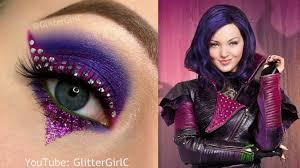 descendants mal makeup tutorial youtube