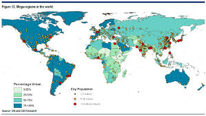 world map by cities mega regions business insider