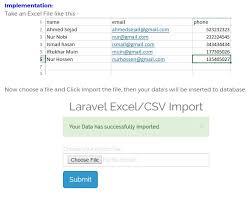 laravel tutorial for beginners bangla how to import excel csv file in laravel and insert data in database