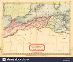 North Africa Map by Mauritania Numidia Et Africa Propria U0027 Hall North Africa
