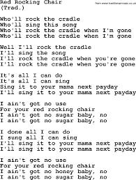 Rocking Chair George Jones Rocking Chair Song Instachair Us