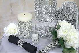 rhinestone decorations for weddings buy row wedding decorations