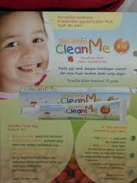 Jual Pasta Gigi Clean Me jual pasta gigi cleanme isomalt strawberry kesehatan gigi anak ori
