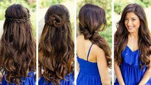 Cute At Home Hairstyles by Cool Hairstyle Ideas For Long Hair Easy Hairstyles To Try At Home
