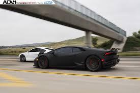 Lamborghini Huracan All Black - matte black lamborghini huracan adv10 0 m v2 cs series wheels