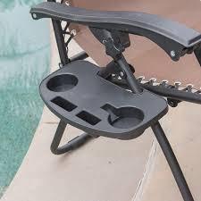 Zero Gravity Outdoor Chair 2 Folding Zero Gravity Chairs Brown Onebigoutlet Com