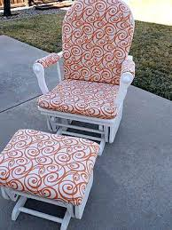 Rocking Chair Ottoman Rocking Chair And Ottoman Cushions Baby Rocking Chair Glider