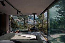 mountain retreat house designed by fearon hay architects