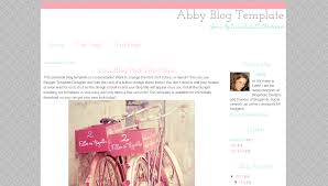 blogger blog template modern abby blogaholic designs