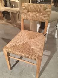 small stewart teak and seagrass dining chair mecox gardens