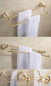 Bathroom Hardware Sets Resin Bathroom Accessory Set Beige Stone White Line Eco Friendly
