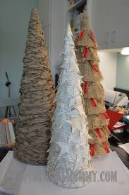 christmas decorating on a budget u2013 cone trees u2013 perennial mommy