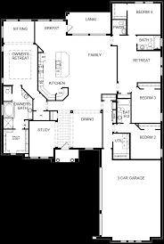 1 story open floor plans the bellevue 1 story located in fishhawk ranch manor series david