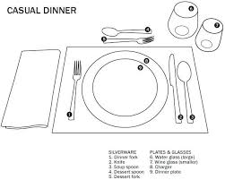 how do you set a table properly marvelous set a dinner table correctly pictures best image engine