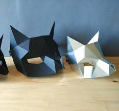 pdf half cat mask diy cat mask paper cat mask diy mask fancy
