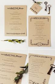 Printable Wedding Programs Free Best 25 Free Printable Wedding Ideas On Pinterest Diy Wedding