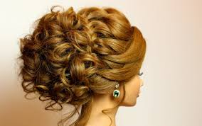 bridal hairstyle for long medium hair tutorial romantic updo with
