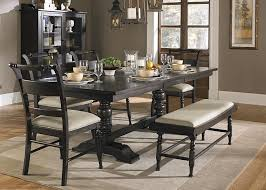Trestle Dining Room Table Sets Black Trestle Dining Room Table Dining Room Tables Ideas