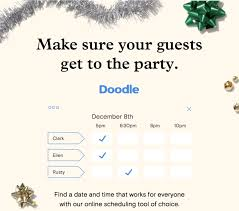 doodle poll tool doodle partners with paperless post to bring easy scheduling to
