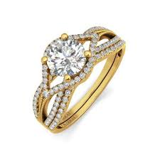 wedding rings nigeria azalea 9kt gold bridal set azarai wedding rings lagos abuja nigeria