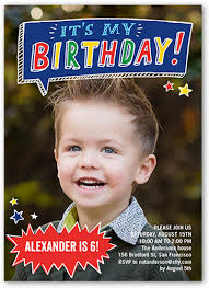 talk bubble fun 5x7 stationery boy birthday invitations shutterfly