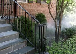 Installing Banister Handrail Installation Iron Handrail Metal Handrail Stairway Railing