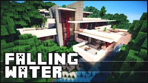 Frank Lloyd Wright Falling Water Interior Minecraft Falling Water House Frank Lloyd Wright Download