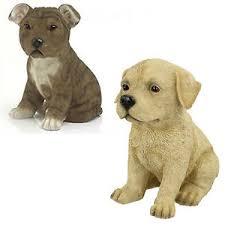 lesser pavey staffy golden retriever puppy ornaments gift