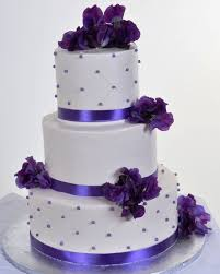 wedding cake makers near me purple wedding cakes there are two options the most popular color