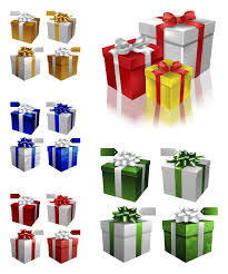 gift boxes christmas 3d christmas gift boxes vector vector graphics