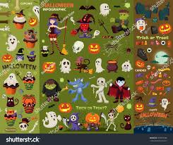 vintage moon pumpkin halloween background vintage halloween poster design set vector stock vector 475057396