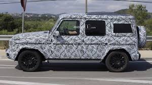 future mercedes g class 2018 mercedes g class spied looking a lot like its 1979 ancestor