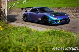 stanced rx7 dare to be different murat u0027s mazda rx7 fd wangan warriors