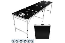 how long is a beer pong table 10 best portable folding beer pong tables tailgate tables in 2018