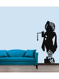 buy lord krishna wall sticker decal online at low prices in india buy lord krishna wall sticker decal online at low prices in india amazon in