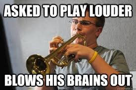 Trumpet Player Memes - scumbag trumpet player memes quickmeme