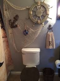 Seaside Themed Bathroom Accessories Pirate Decor Found At Hobby Lobby Pirate Bathroom Ideas