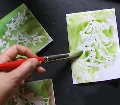 make your own christmas cards how to make and paint christmas cards
