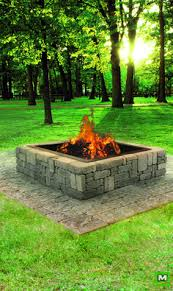 Large Firepits Large Pit Pit And Bench With Large Wooden