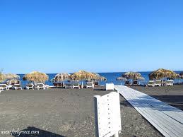 Where Is The Black Sand Beach Beaches Of Santorini Part 1