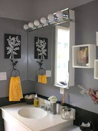 black and gray bathroom ideas bathrooms bathroom grey gray yellow black my graduated grey