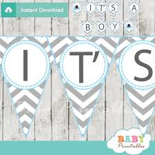 baby shower banners blue elephant baby shower banner d105 baby printables