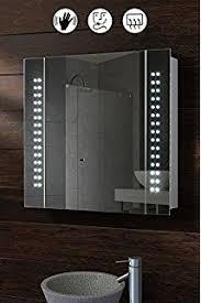my furniture opticon illuminated led bathroom mirror amazon co uk