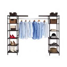 Best Closet Organizers Amazon Com Seville Classics Expandable Closet Organizer System