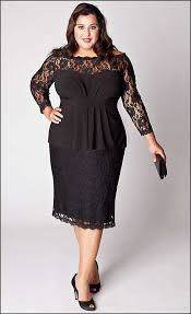 formal dresses for plus size women real photo pictures