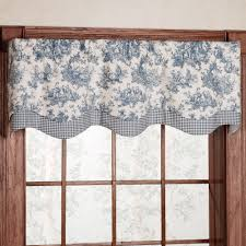 wonderful toile valance curtain 116 black toile curtains valance jpg