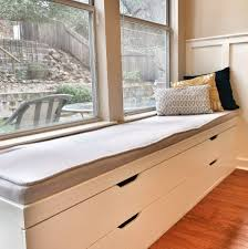 Window Seat Storage Bench Diy by Build Window Seat Storage Bench Cozy And Modern Window Seat