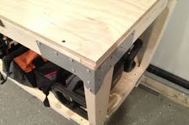 Work Bench Design How To Build A Heavy Duty Workbench One Project Closer