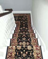 Bridgeport Carpet Nourison 2000 Roll Runner Installed On A Set Of Stairs For A