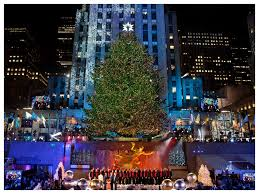 Rockefeller Tree Rockefeller Center New York City New York By Rail